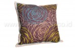 Bantal Sofa Decoration Motif 3D Flower Q1897